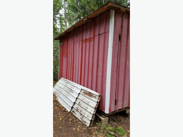 Large Metal Shed Duncan Cowichan Mobile