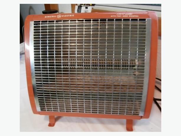VINTAGE General Electric Heater, Made in Barrie, Ontario