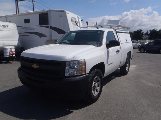 2010 chevrolet silverado 1500 regular cab standard box 2wd canopy with roof rack burnaby incl. Black Bedroom Furniture Sets. Home Design Ideas