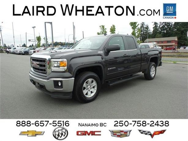 2014 gmc sierra 1500 sle 4wd w back up camera and trailering package north nanaimo nanaimo. Black Bedroom Furniture Sets. Home Design Ideas