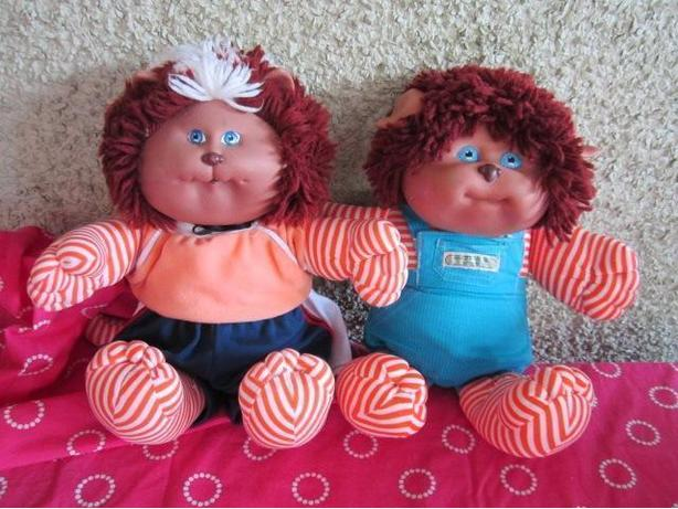 Cabbage Patch Pets Koosas dog and cat