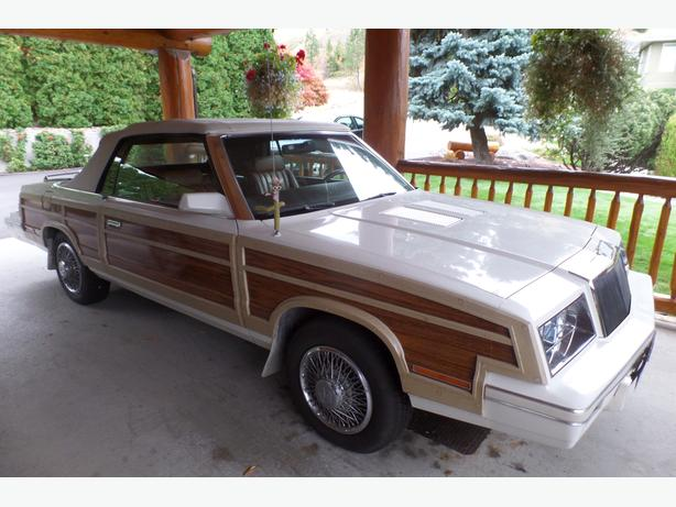 1984 Chrysler  LeBaron Collector convertible