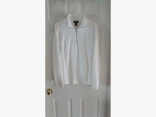 Brand New - Men's White Long Sleeve Calvin Klein Shirt - Medium