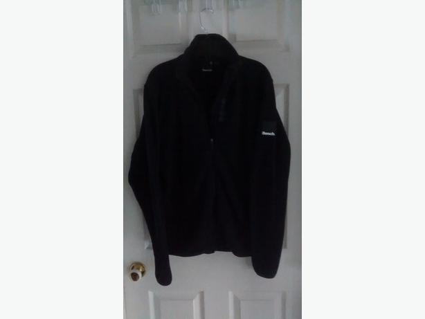 Brand New - Men's Black Fleece BENCH Jacket - Size Medium