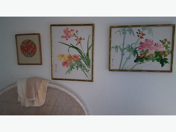 Oriental - Hawaiian- oil paintings