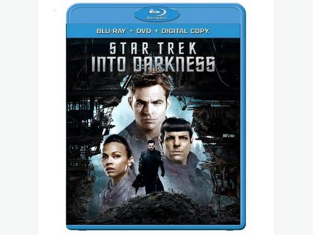 Star Trek Into Darkness Bluray with DVD