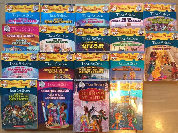 24 Thea Stilton, Creepella Von Cacklefur, Geronimo Stilton Books