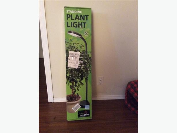 Adjustable standing grow light