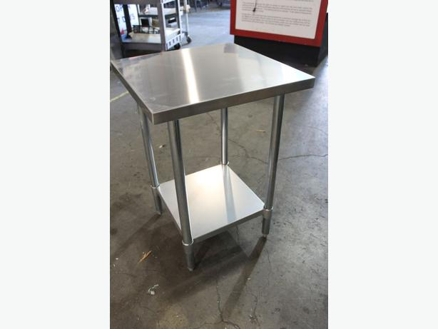 Stainless Steel Tables & Shelving Overstock