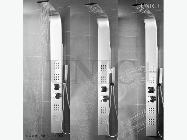 Bathroom Stainess Steel Massage Spray Jets Shower Panel