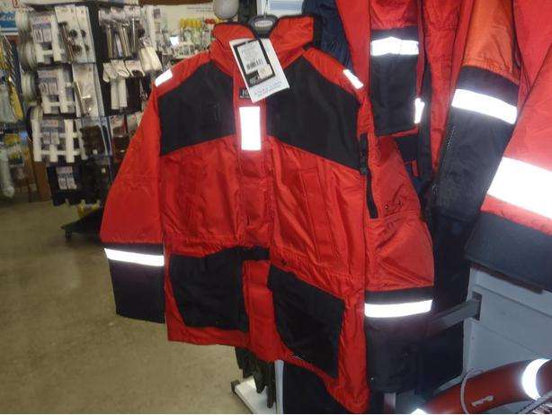 HELLY HANSEN ECHO II PARKA, FLOATER COAT PFD