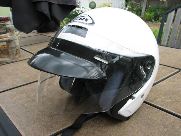 2 motorcycle helmets - take your pick