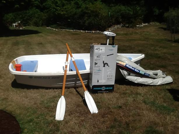 Walker Bay 10' with electric motor