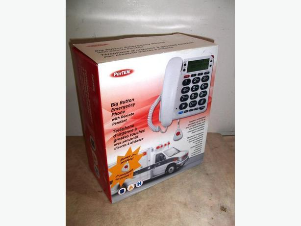 New Emergency Phone with Remote