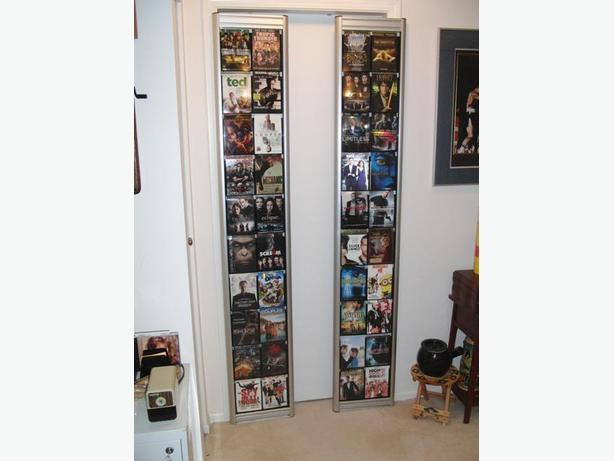 Home Theatre - Two Commercial DVD Cover Display Racks
