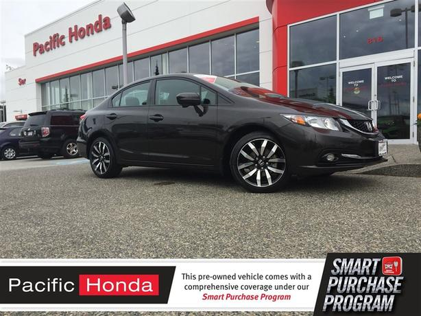 2014 Honda Civic Sedan Touring Cert - LOCAL 1 OWNER TRADE IN
