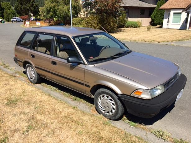 1989 Toyota Corolla Station Wagon    RETRO DELIGHT