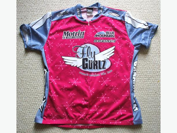 Jersey-by L.G. `Fly Gurlz`- Youth Girls sz. XL - womans Small