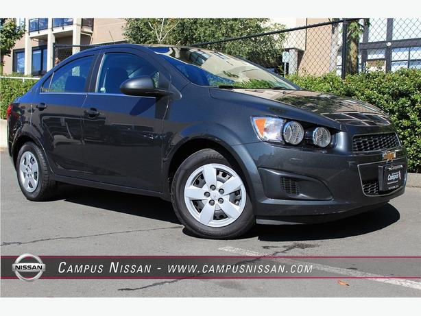 2015 Chevrolet Sonic LT Back up Cam