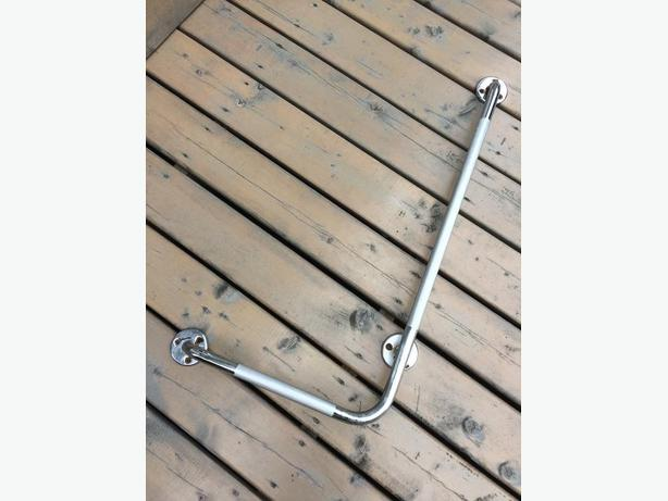 Stainless steel safety bar