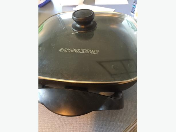 FREE: electic frying pan