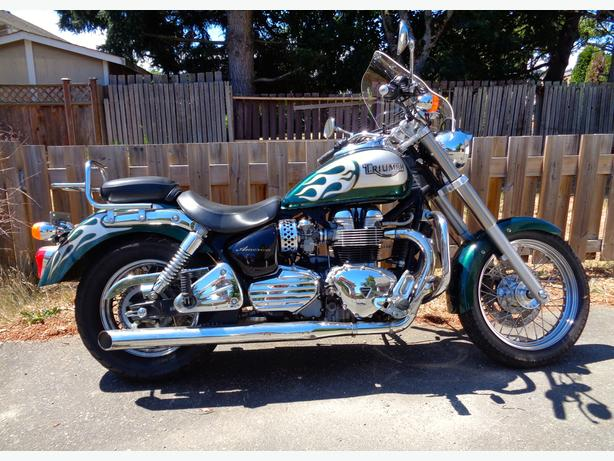 2004 triumph bonneville america west shore langford colwood