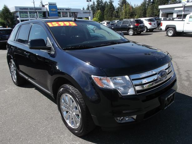 2010 ford edge awd sel for sale outside comox valley campbell river. Black Bedroom Furniture Sets. Home Design Ideas