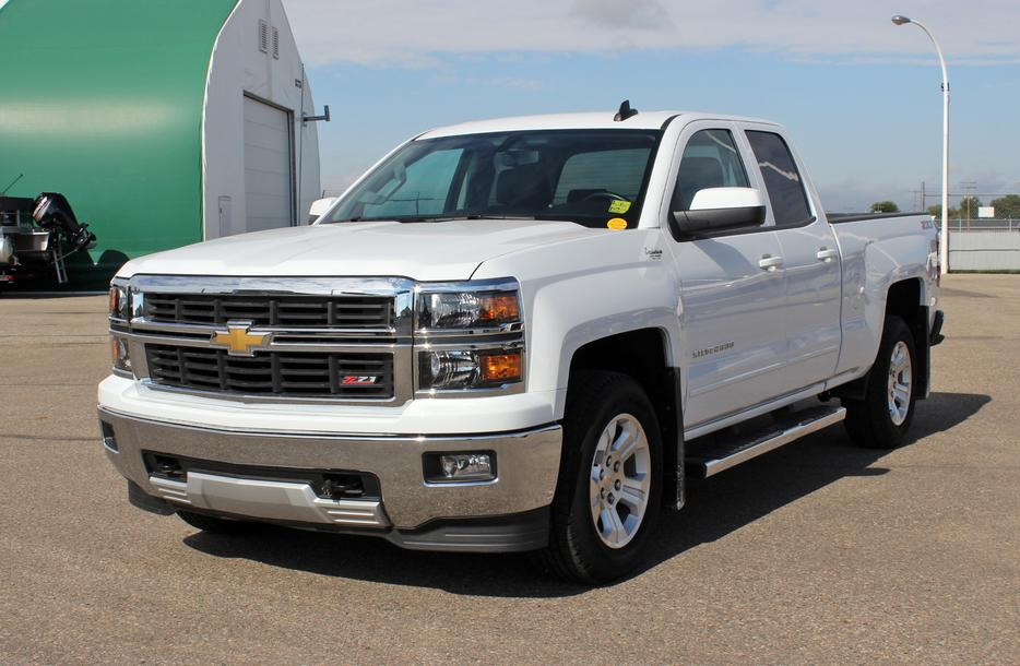 2015 Chevrolet Silverado 1500 Double Cab Lt 4x4 Backup