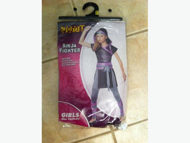 Ninja Fighter Halloween Costume - size Medium