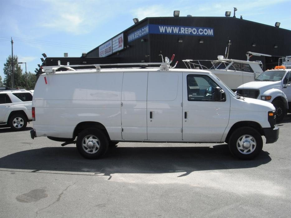 2010 ford econoline e 350 super duty extended cargo van outside okanagan okanagan. Black Bedroom Furniture Sets. Home Design Ideas