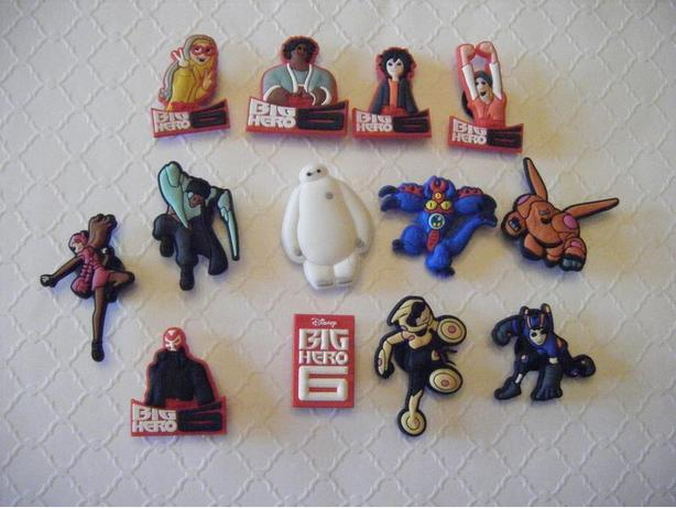 Big Hero 6 Shoe Charms for Crocs or Magnets