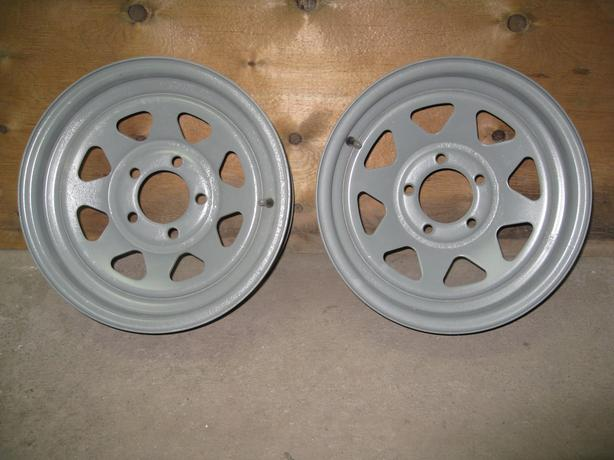Steel Trailer Rims