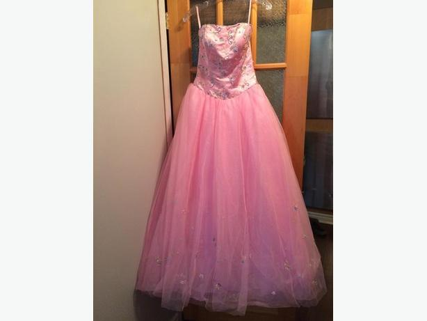 Pink (Prom/Special Occasion) Dress - size 8