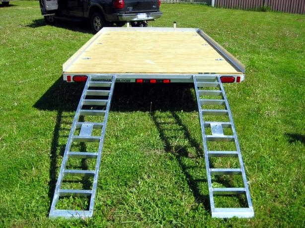 2010 7x12ft Aluminum Utility Trailer