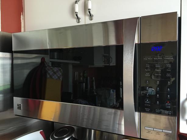 kenmore elite microwave hood combination. new price - kenmore elite \u2013 microwave hood combination e