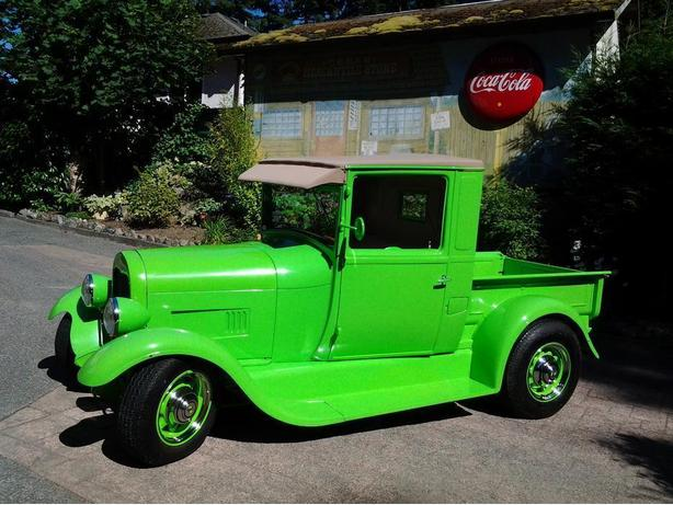 Model A Pick up Hot Rod