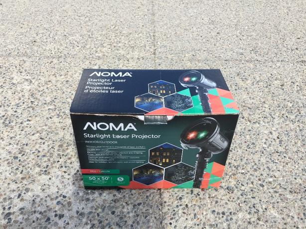 NOMA STARLIGHT LASER PROJECTOR CHRISTMAS HALLOWEEN WINTER North ...