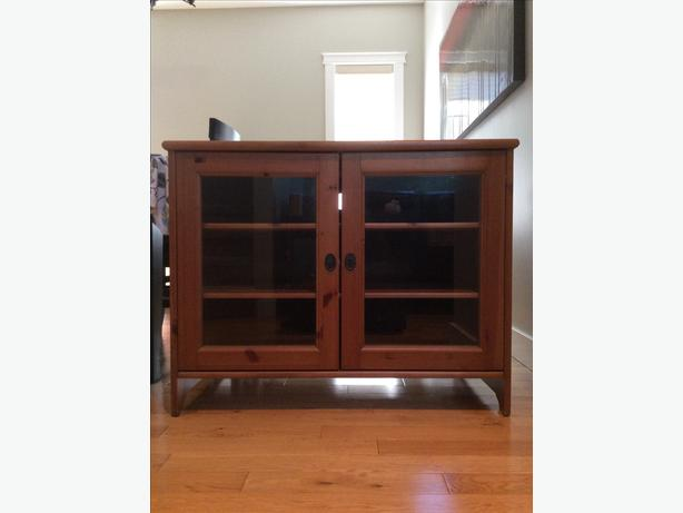 ikea tv storage cabinet saanich victoria. Black Bedroom Furniture Sets. Home Design Ideas