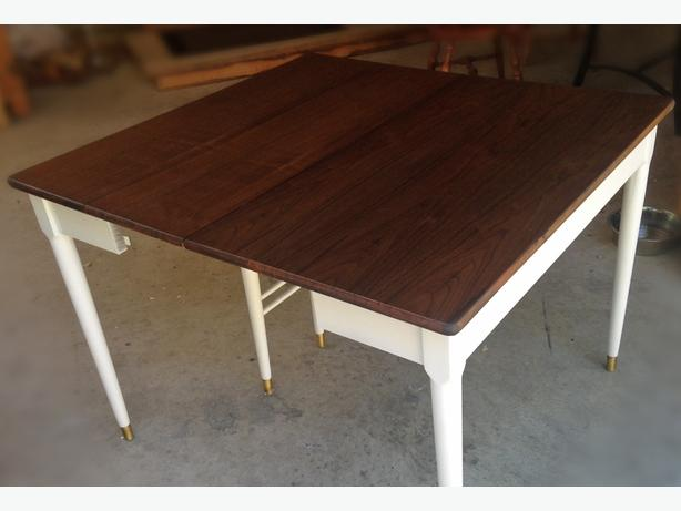 Refinished Drop Leaf Table