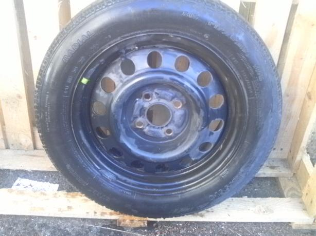14 in. Tire on rim