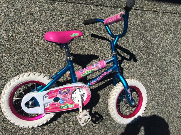 Abby Cadabby Sesame Street Bike