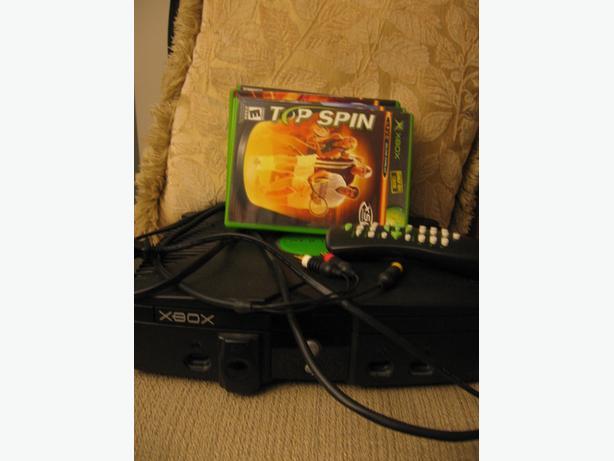 Original XBox console + accessories
