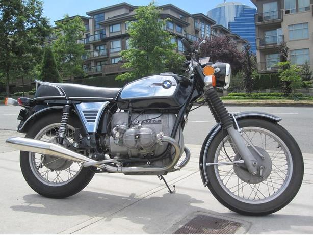 * SOLD * 1972 BMW R75/5. * Reduced Price !! *