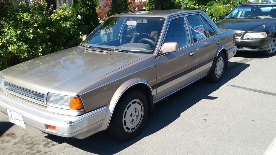 1987 Nissan Stanza 120k Central Saanich Victoria