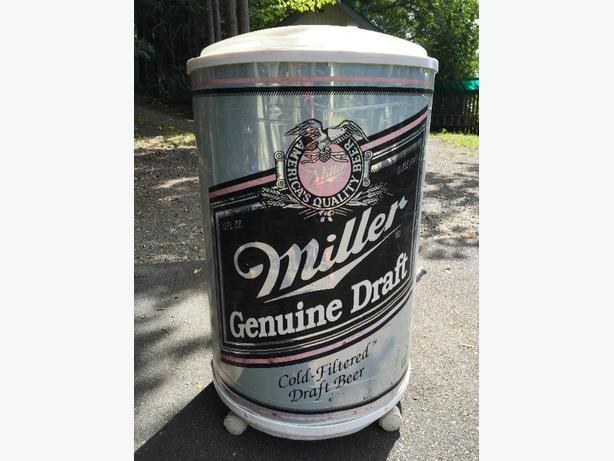 Man Cave Store In Mississauga : Used miller lite insulated cooler promotional type found