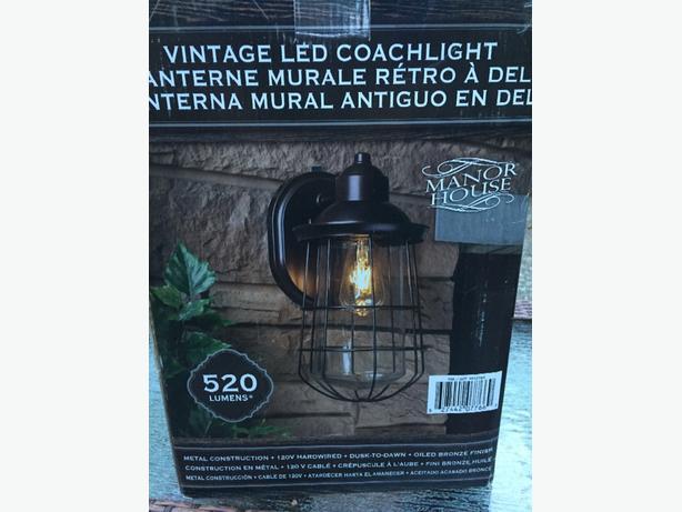 4  LED Vintage Outside lights