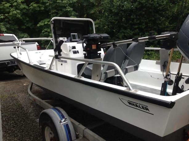 boston whaler montauk 17