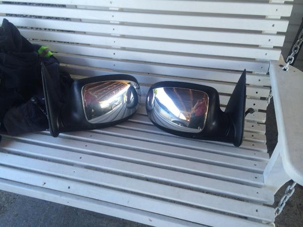 power heated mirrors off 2002 gmc sierra