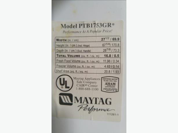 Maytag Refridgerator