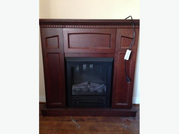 Electric Fireplace With Storage Saanich Victoria